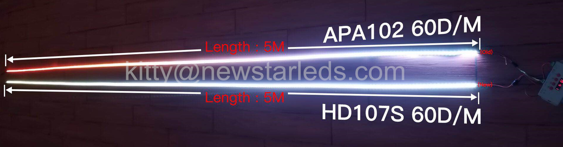 APA102 LED Strip comparing to HD107S LED Strip Light.jpg